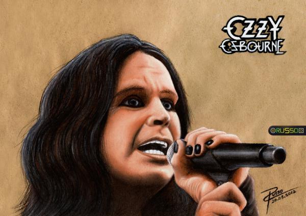 Ozzy Osbourne by RUSSO